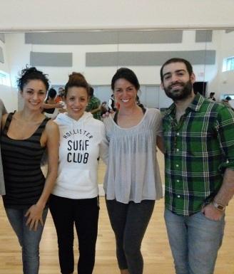 Tango Fire Master Class with Artistic Director & Choreographer German Cornejo & his partner Gisela Galeassi