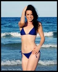3/4 Body Shot Bikini