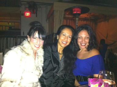 With Ana Bolt & Marie Whitman