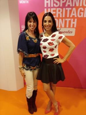 With Kika Rocha