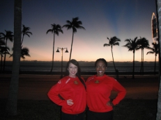 Ft. Lauderdale Turkey Trot & Paddle 2014 appearance with Ft. Lauderdale Strikers Dancers